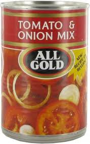 All Gold Tomato & Onion Mix - 410g
