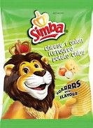 Simba Cheese & Onion - 125g